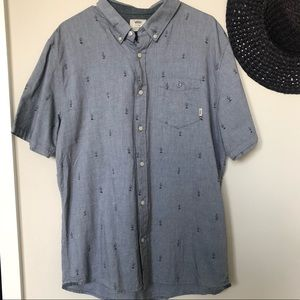 Vans Men's Cactus Button-up Shirt